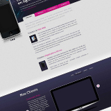 Creation Template vendeesign pour Wordpress