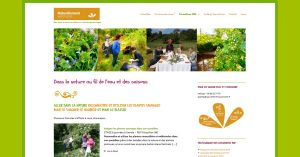 Site Internet sous WordPress Association Loire Atlantique Naturellement Autonome